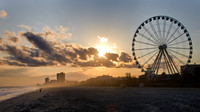 Sunset at the SkyWheel